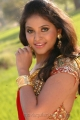 Kalakalappu Anjali Hot Pics in Red Saree