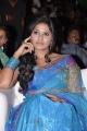 Actress Anjali in Saree Photos at SVSC Audio Launch