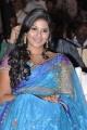 Actress Anjali Cute Saree Photos at SVSC Movie Audio Launch