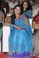 Actress Anjali Blue Saree Photos at SVSC Audio Release
