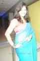 Actress Anjali Blue Saree Hot Stills @ Masala Movie Audio Release