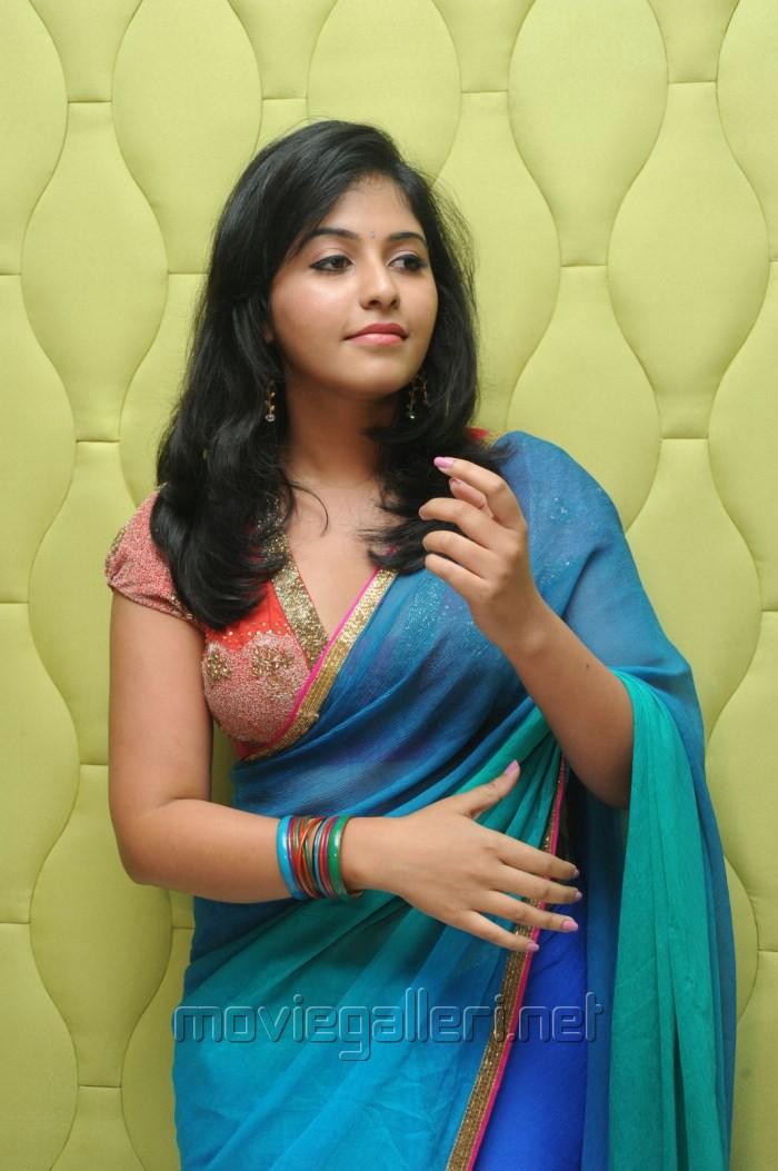 ... Actress Anjali Hot In Saree Stills @ Masala Audio - 700x1053 - jpeg