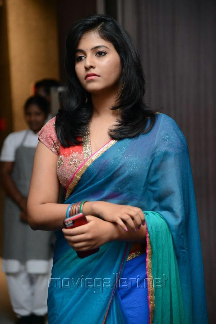 Picture 581750 | Actress Anjali Saree Hot Stills @ Masala ...