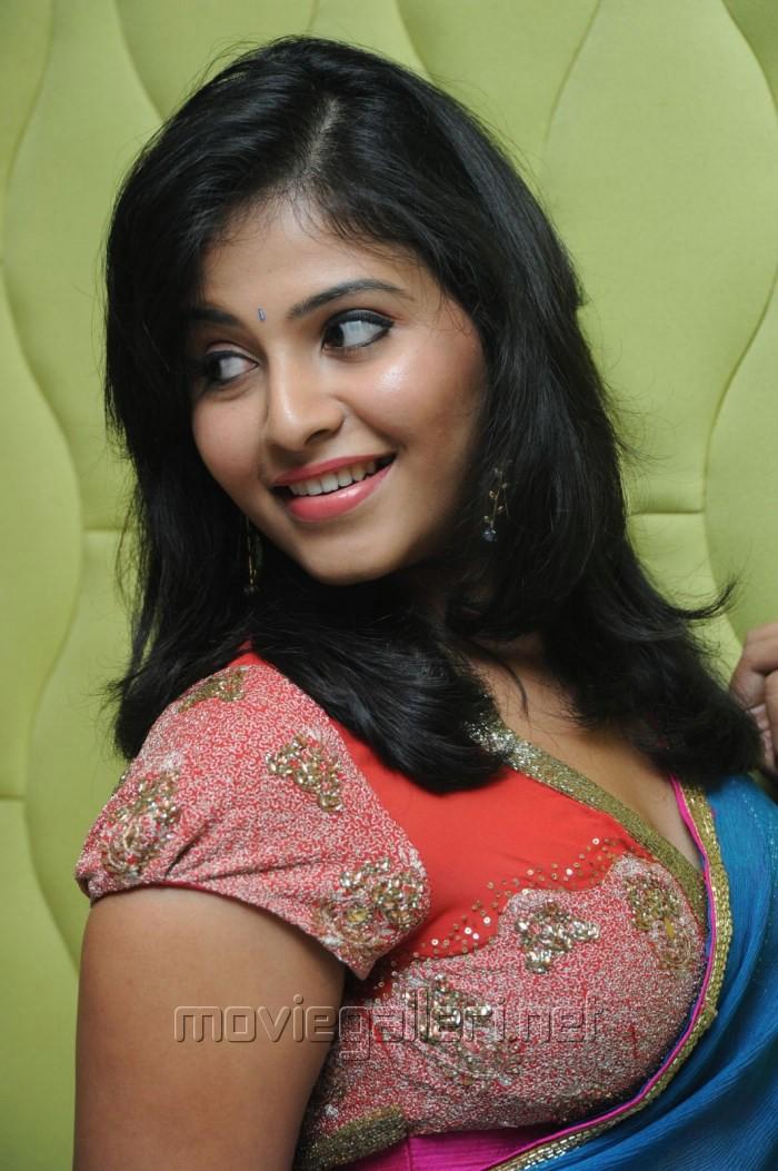 Picture 581760 | Actress Anjali Saree Hot Stills @ Masala ...