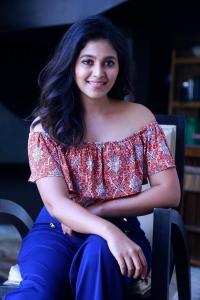 Actress Anjali @ Vakeel Saab Movie Interview Photos