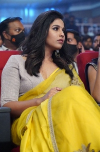 Actress Anjali Yellow Saree Photos @ Vakeel Saab Pre-Release