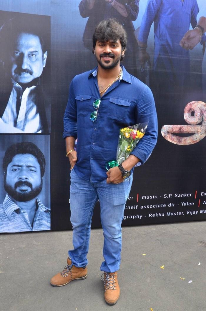 Arjun @ Anjeal Movie Launch Stills