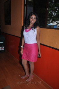 Tamil Actress Ankitha Hot Photos in White Top & Pink Skirt
