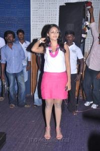Actress Ankitha Hot Stills at Neengatha Ennam Audio Launch