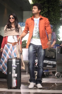 Amala Paul, Vijay in Anna Telugu Movie Photos
