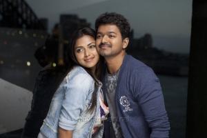Amala Paul, Vijay in Anna Movie Photos
