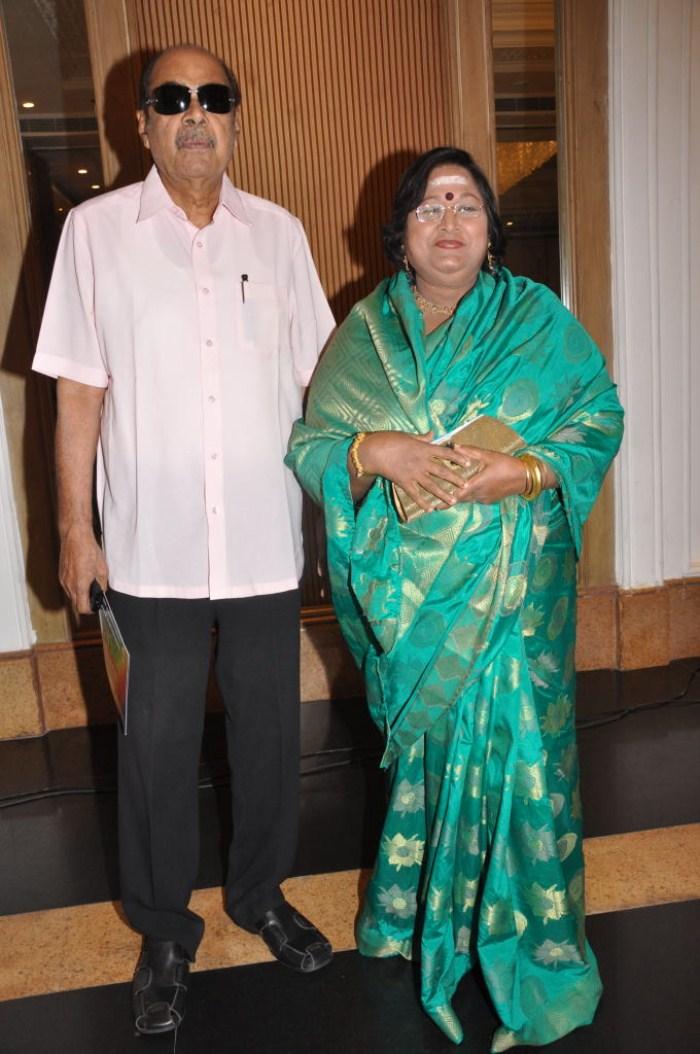 D.Ramanaidu, Vanisri at ANR 75 years Sanmanam Press Meet