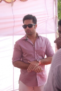 Telugu actor Navdeep  at Antha Nee Mayalone Movie Opening Stills