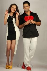 Sneha Ullal, Navdeep in Antha Nee Mayalone Movie Photos
