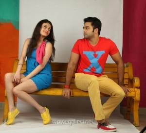 Sneha Ullal, Navdeep in Antha Nee Mayalone Telugu Movie Photos