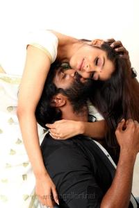 Rashmi Gautam, Charandeep in Antham Movie Hot Pics