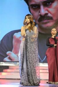 Actress Anu Emmanuel Hot Saree Photos @ Agnathavasi Audio Release