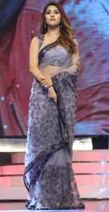 Actress Anu Emmanuel Hot Saree Photos @ Agnyaathavaasi Audio Launch
