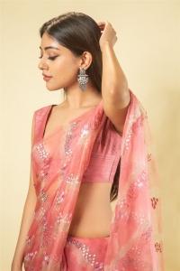 Actress Anu Emmanuel Saree Images @ Maha Samudram Pre Release