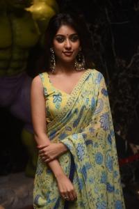 Maha Samudram Actress Anu Emmanuel Saree New Photos