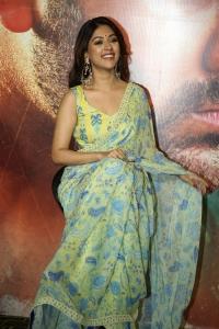 Maha Samudram Actress Anu Emmanuel New Saree Photos