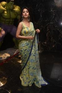 Maha Samudram Movie Heroine Anu Emmanuel Saree Photos