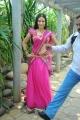 Actress Anu Smruthi Saree Hot Stills at Heroine Movie Launch