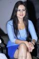 Actress Anu Smruthi in Super Hot Blue Dress at Ista Sakhi Audio Release
