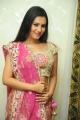 Telugu Actress Anusmriti Sarkar Hot Images in Pink Dress