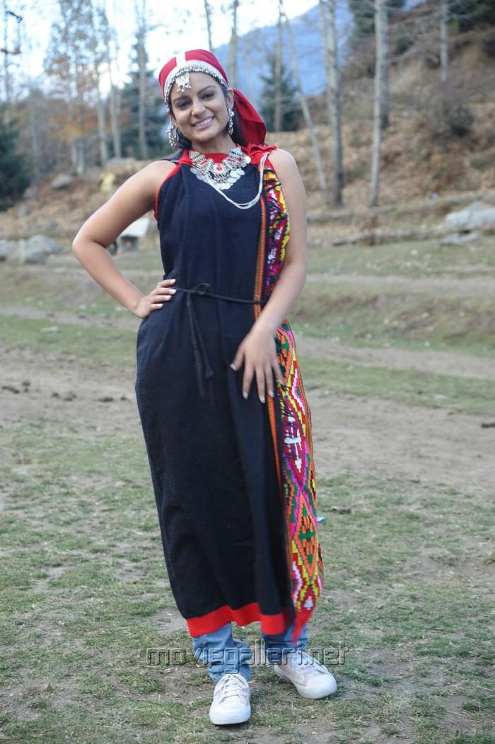 Anuhya Reddy in Himachal Pradesh Traditional Dress
