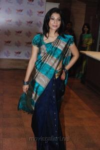 Tamil Actress Anuja Iyer in Saree Stills