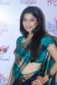 Actress Anuja Iyer in Silk Saree Hot Stills