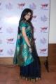 Tamil Actress Anuja Iyer Hot Saree Pics at Sri Palam Silks