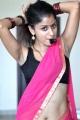Telugu Actress Anukriti Sharma Hot Spicy Saree Stills in Sridevi Movie