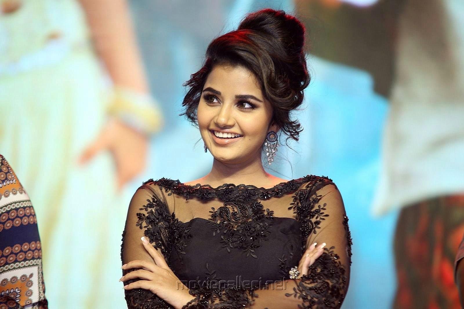 Heroine Anupama Parameswaran Pics @ Hello Guru Prema Kosame Pre Release