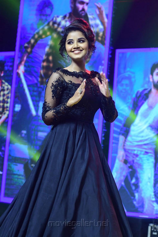 Actress Anupama Parameswaran Pics @ Hello Guru Premakosame Pre Release