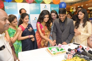 Actress Anupama Parameswaran @ Anutex Shopping Mall 49th Anniversary Celebrations Kothapet Photos