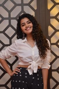 Actress Anupama Parameswaran Pics @ Rowdy Boys Movie First Look Launch