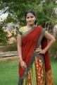 Telugu Actress Tanusha in Red Half Saree Photos
