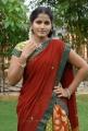 Telugu Actress Tanusha in Red Langa Voni Photos