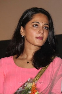 Anushka Latest Cute Pics at Irandam Ulagam Audio Launch