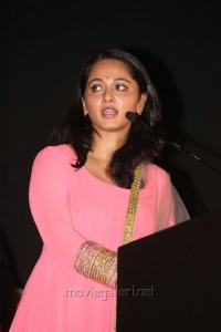 Anushka Latest Cute Pics at Irandam Ulagam Audio Release