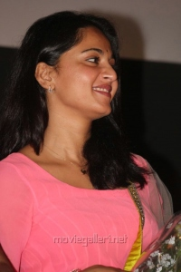 Actress Anushka Latest Cute Pics at Irandam Ulagam Audio Release