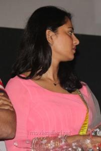 Anushka Shetty Cute Pics at Irandam Ulagam Audio Release