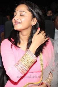 Anushka Shetty Cute Pics at Irandam Ulagam Audio Launch