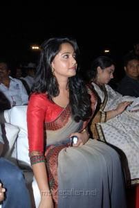 Telugu Actress Anushka New Saree Photos