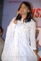 Actress Anushka in White Churidar Cute Stills at Mirchi Movie Success Meet