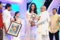 Actress Anushka got 2012 Best Heroine TSR TV9 Award for Damarukam
