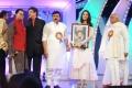 Actress Anushka got 2012 Best Heroine TSR TV9 Film Award for Damarukam