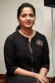 Actress Anushka Black Churidar Photos @ Bahubali 2 Press Meet